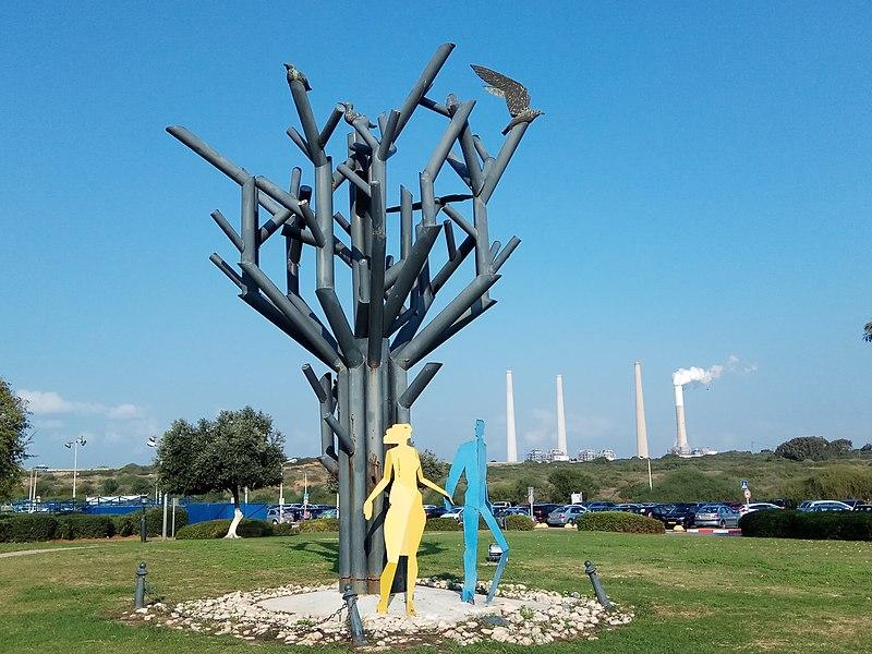 הפסל התרגעות של רפי קרסו