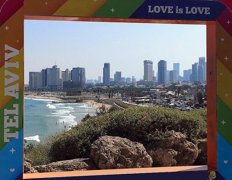 נוף לכיוון תל אביב, מיפו