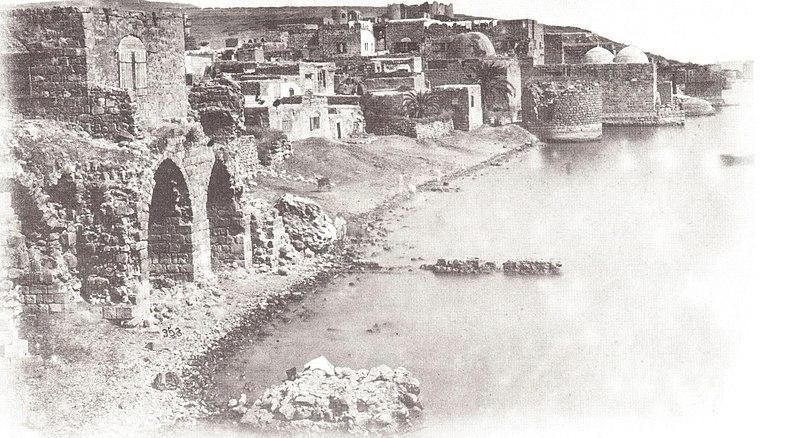 טבריה מצד דרום 1870