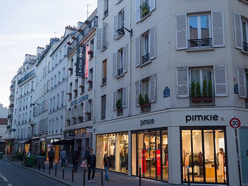 Compras em Paris em julho