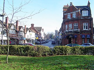 Pinner area of west London