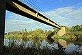 Pipe bridge below Cavendish Bridge - geograph.org.uk - 1541656.jpg