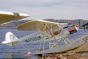Piper PA-11 - Float-equipped PA-11S at Seattle Renton in 1973