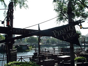 Pirate's Lair on Tom Sawyer Island - Image: Pirates' Lair