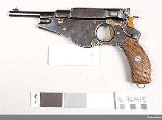 Tottenham outrage - 6.5mm 1894 model Bergmann