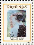Pithecophaga jefferyi 1995 stamp of the Philippines.jpg