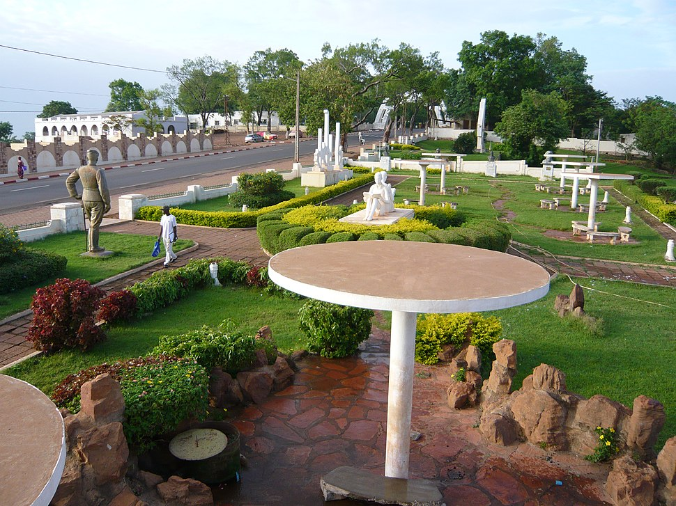 Place des explorateurs, Koulouba - Bamako
