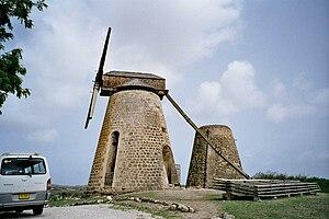 Betty's Hope - Sugar mills, Betty's Hope