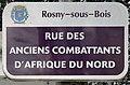 Plaque Rue Anciens Combattants Afrique Nord - Rosny-sous-Bois (FR93) - 2021-04-15 - 1.jpg