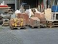 Plauen, Postmeilensäule - zerstört IMG 4336.jpg