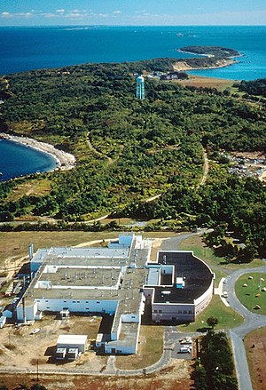 Plum Island (New York) - Aerial view of Plum Island Animal Disease Center