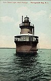 Plum Beach Lighthouse in Rhode Island.jpg