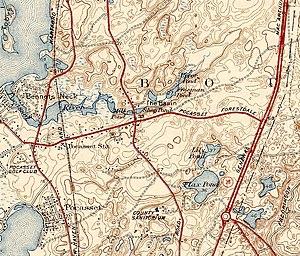 Pocasset River (Massachusetts) - Pocasset River and environs