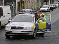 Police car, Dungannon - geograph.org.uk - 1470001.jpg