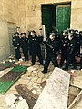 Police officers in September 2015 Temple Mount Riots.jpg