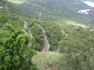 Pollachi - Road to Valparai in the Western Ghats