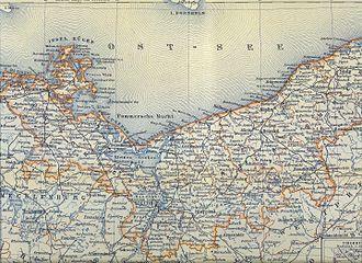 Landkreis Kolberg-Körlin - Province of Pomerania, 1892.