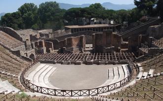 Gnaeus Naevius - Theater in Pompeii