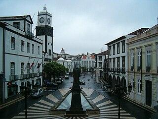 Ponta Delgada Municipality in Azores, Portugal