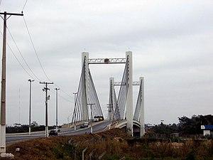 Sérgio Motta Bridge, in Cuiabá, Mato Grosso, B...