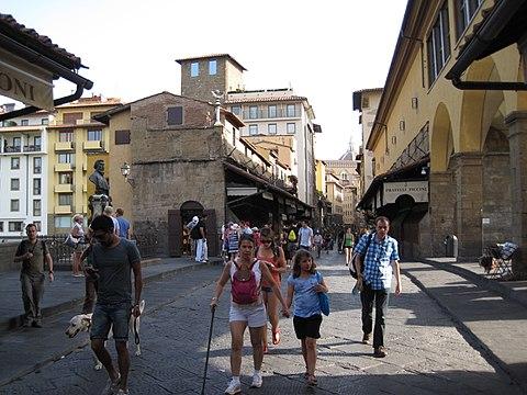 Ponte Vecchio shop