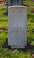 Poole CWGC gravestone, Kirkdale Cemetery.jpg