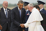 Pope Francis arrives at Joint Base Andrews 150922-F-CX842-005.jpg