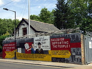 Poplar Rates Rebellion - Image: Poplar rates rebellion mural, Hale Street geograph.org.uk 866099