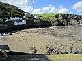 Port Isaac Harbour, Cornwall (461084) (9455339205).jpg
