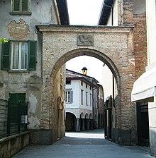 Portale con Leone di San Marco