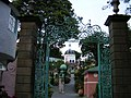 Portmeirion village view through the gates - geograph.org.uk - 525375.jpg