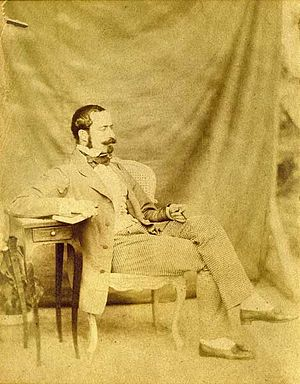 Hotel Gaillard - Portrait of Emile Gaillard, 1870