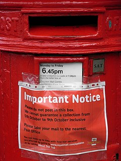 2007 Royal Mail industrial disputes