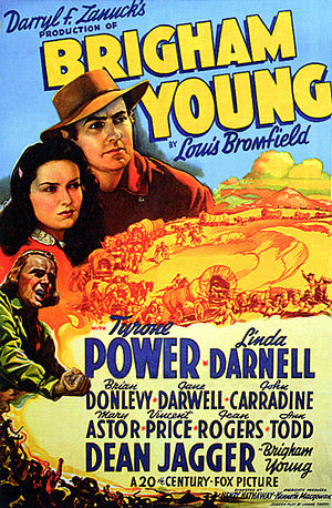 Brigham Young (film) - Image: Poster Brigham Young 01