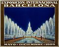 Poster for the International Exhibition Barcelona, 1929 Wellcome V0050580.jpg