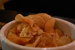 potato chips photographed by stu spivack