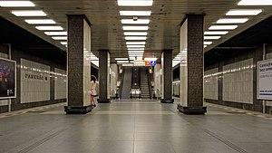 Pankrác (Prague Metro) - Pankrác metro station platform