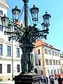 Praha, Hradčany, kandelábr(Aw58).JPG