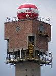 Praha-Kamýk, radarová věž, horní část.jpg