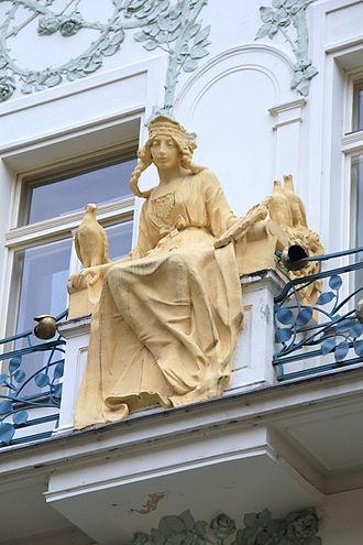 Libuše - Libuše at Karlova Street, Prague
