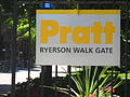 Pratt Institute Ryerson Walk Gate.JPG