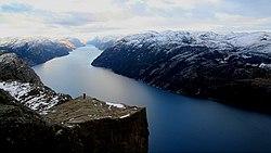 Норвегия, Лисефьорд