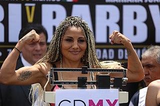 Mariana Juárez Mexican boxer