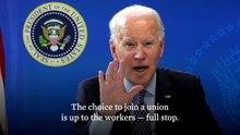 Bestand:President Biden levert opmerkingen aan Workers.webm