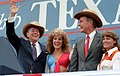 President Reagan and Vice President Bush at a rally at Auditorium Shores in Austin Texas (cropped).jpg