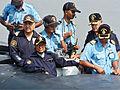President on-board INS Sindhurakshak.jpg