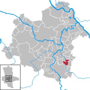 Preußlitz - Image: Preußlitz in SLK