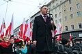 """Prezydent RP Andrzej Duda na marszu """"Dla Ciebie Polsko"""".jpg"""