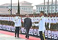 Prime Minister Narendra Modi receives a guard of honour at the ceremonial welcome in Putrajaya, Malaysia.jpg