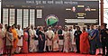 Prime Minister Narendra Modi visits Shauryanjali, a commemorative exhibition on the 1965 war.jpg